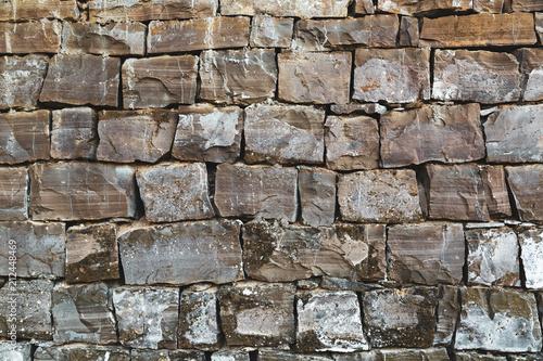 Fototapeta Old grunge natural stone wall.