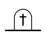 cemetery icon - 212449017
