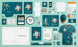 Stationery template design - 212452424