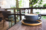 hot coffee with latte art - 212455294