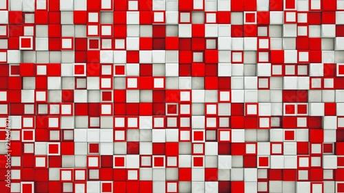 czerwono-biale-kwadraty