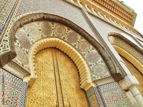 Fotobehang Marokko Morocco Fez