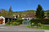 Giverny; France - april 17 2018 : the picturesque painters village - 212470807