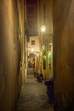 Street of Florence at night