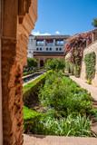 Palazzo della Alhambra a Granada in Andalusia, Spagna - 212477044