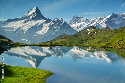 Foto Murales lac de Bachalp