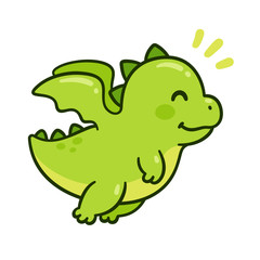 Cute baby dragon © sudowoodo
