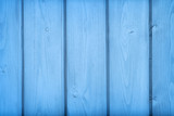 Blue wooden boards texture and background - 212504221