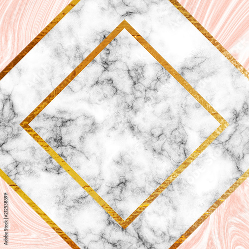 Gold and marble - 212538899
