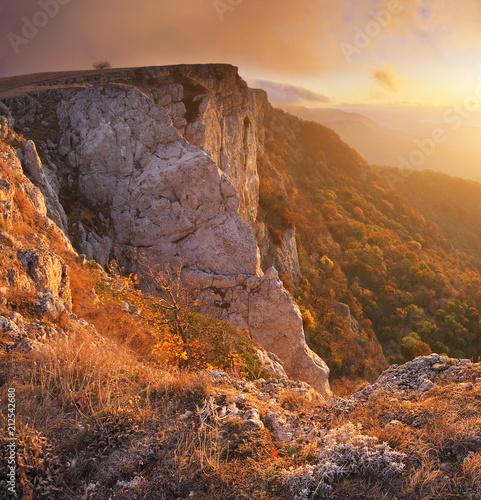 Mountain panorama landscape - 212542680