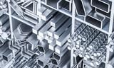 metal bar 3d - 212567696