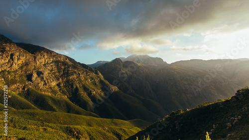 Beautiful view of Jonkershoek nature reserve