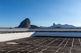 Sugar Loaf, Rio de Janeiro, Brazil, observed in different angles, from historical Santa Cruz da Barra fortress, built in seventeenth century, when protected the entrance of the Bay of Guanabara. - 212575651