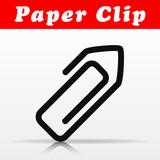 paper clip vector icon design - 212583823