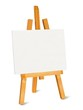 Small easel and canvas - 212585097