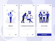 Flat Design Oneboarding Concepts 2