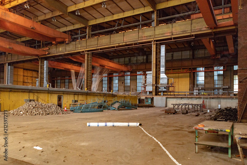 Fotobehang Oude verlaten gebouwen Varvsstaden