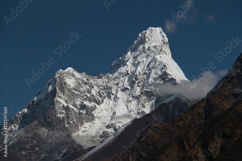 Fotobehang Nachtblauw Himalayas