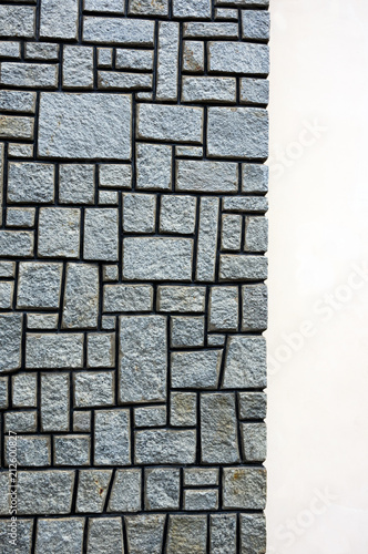 Fototapeta stone wall background textures are used in the design of architecture