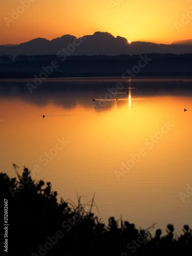 Plexiglas Zonsopgang Strandfontein Sunrise