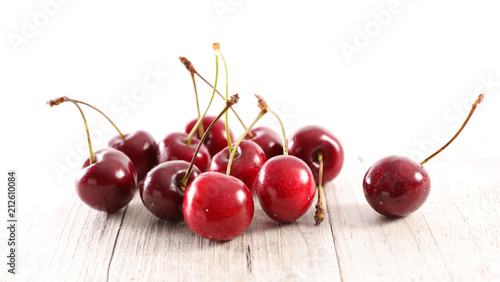 Aluminium Kersen fresh group of cherry