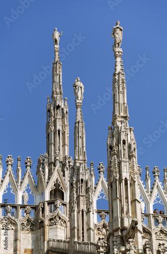 Aluminium Milan Top of Milan cathedral