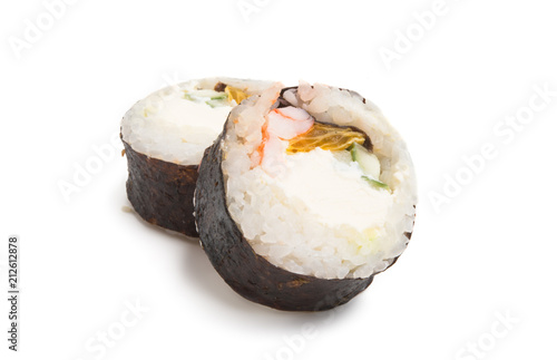 Fotobehang Sushi bar sushi isolated
