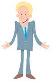 businessman comic cartoon character - 212619284