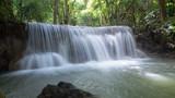 Huay Mae Khamin waterfall, Kanjanaburi, Thailand