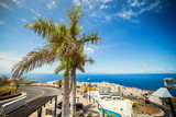 Cityscape view of Los Gigantes cliffs. Tenerife, Canary Islands, Spain - 212625664