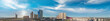 Las Vegas, Nevada. Aerial view at sunset, city panorama