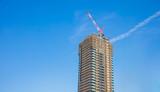 modern of Buildings sky background - 212654049