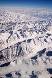 Snowy mountain peaks. Earth surface. Environment protection and ecology. Discovery and adventure. Mother Earth gave us birth