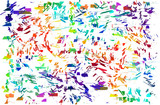 Abstract colorful splash background. Watercolor background illustration. - 212658865