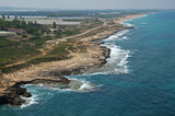 Coast of the Mediterranean Sea in the Rosh Hanikra area - 212669400