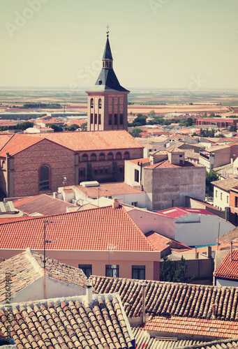 Foto Murales view of town in La Mancha