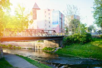 Small bridge in the city © Andrzej Wilusz