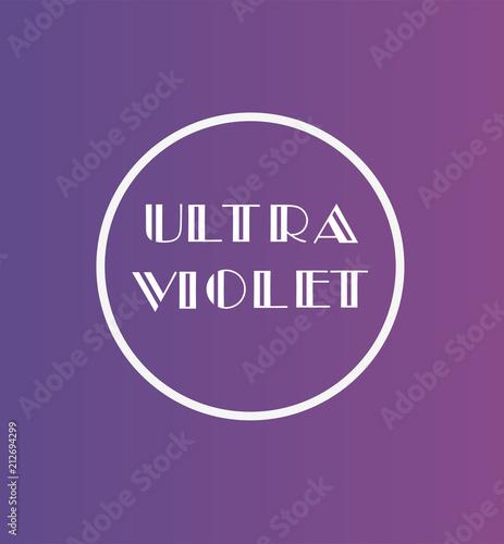 Wektor Kolor ultrafioletowy
