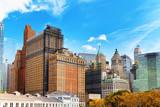 Urban cityscape of New York. Lower Manhattan district. - 212704629