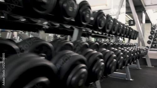 Gym filmed 50fps