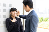 asian businessgroup talking in office - 212707000
