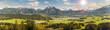Leinwandbild Motiv Frühling im Allgäu bei Füssen