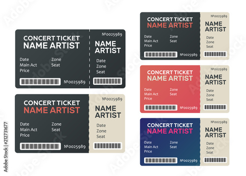 concert tickets isolated music dance live concert tickets