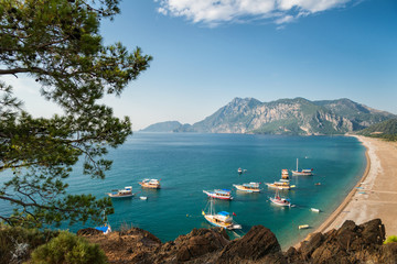 Beautiful Mediterranean coast © Antonio