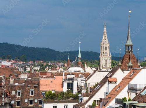 über den Dächern von Bern mit Berner Münster
