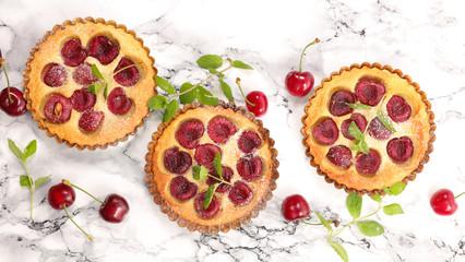 cherry fruit clafoutis © M.studio