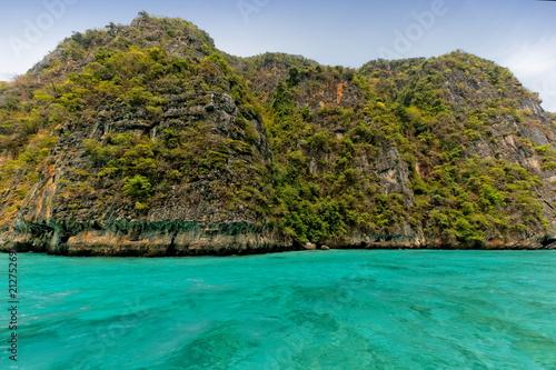 Fotobehang Tropical strand océan