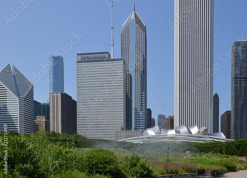 Fotobehang Chicago Chicago, Illinois