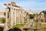 Roman Forum in Rome, Italy - 212756626