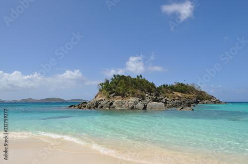 Fotobehang Tropical strand Island Time